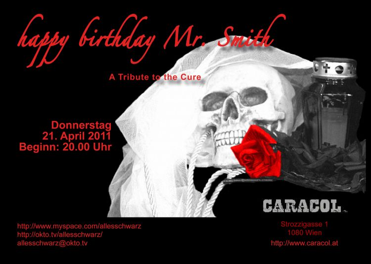 Gothic Happy Birthday http://www.gothic.at/termine/happy-birthday-mr-smith.html,5765